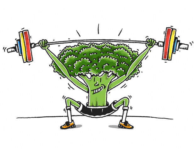 The Barbell Broccoli. CrossFit und Veganismus