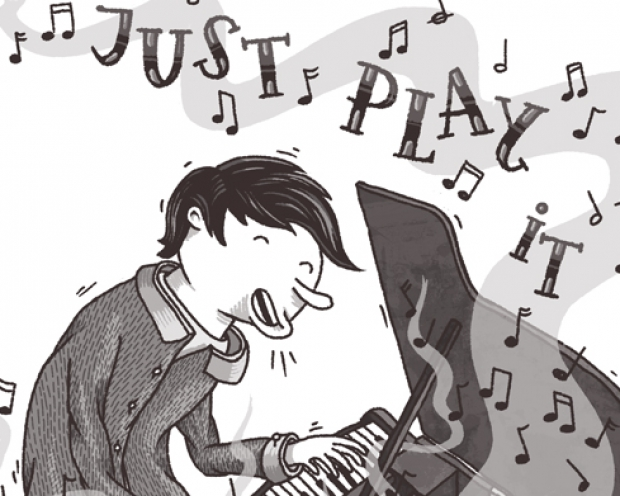 Just Play It. Illustration von Jan-Hendrik Holst